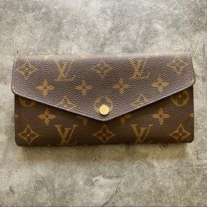 Louis Vuitton Sarah Monogram Wallet SD3174